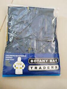 Botany Bay  Traders Childrens Reversible Raincoat Size 6