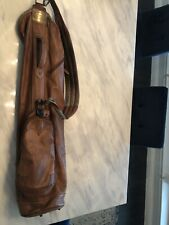 sun mountain leather golf bag - Sunday Bag - Used