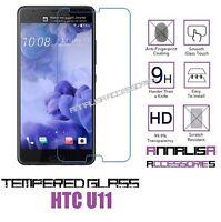 PELLICOLA IN VETRO TEMPERATO PER HTC U11 TEMPERED GLASS SCREEN PROTECTOR SCHERMO