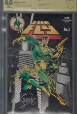 THE FLY # 1, MAY 1983 Red Circle/Archie -photo cover signed STERANKO graded CBCS