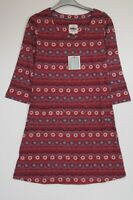 New Mistral Boho Folk Stripe Tunic Top Dress - Size 8 - 18