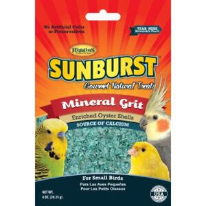 HIGGINS - Sunburst Mineral Grit Gourmet Treats for Small Birds - 6 oz. (170.1 g)