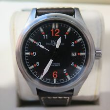 Genuine Ball Fireman NM1090C Orange Automatic Men's Swiss Watch Full Set Leather