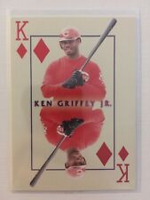 2000 Pacific Invincible Kings of the Diamond #10 Ken Griffey Jr. Baseball Card