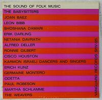 The Sound of Folk Music 1st Vanguard Mono LP NM Vinyl Babysitters Odetta Weavers