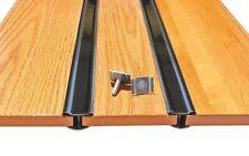 Steel Bed Strips Hidden Fasteners 1951 - 1953 Chevy Short Stepside Pickup Truck