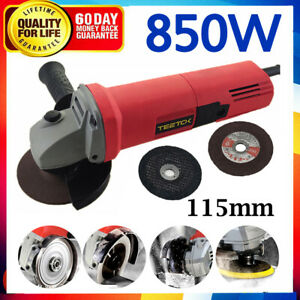 850W Electric Angle Grinder 115mm Cutting Grinding Discs Sander Drive Upgrade