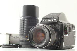 【 NEAR MINT 】 Mamiya M645 1000S + Sekor C 55mm f/2.8 & 210mm f/4 Lens  Japan 675