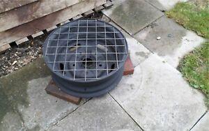 Upcycled Steel Wheel Redneck BBQ/Firepit/Chimenea/Patio Heater
