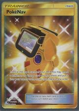 PokeNav #181/168 CELESTIAL STORM Pokemon SECRET RARE- FULL ART -HOLO MINT
