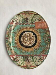Michel Design Works Secret Garden Oval Glass Soap Dish NEW