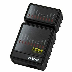Hobbes E-851 HDMI Cable Tester Test All HDMI Signal and Cable Pins Main and R...