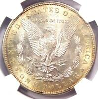 1884-S Morgan Silver Dollar $1 - NGC AU55 - Rare in AU55 - Near UNC/MS!