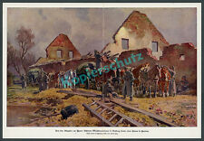 Paul Hey Fortnin Front Flandern Ypern Nachschub Munitionstransport Landser 1916