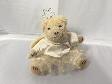 "5"" stuffed Russ plush Glitter & Gold Angel Bear w/tag"