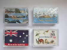 3x Australian Souvenir Playing Cards - 4 Designs to choose from! Kangaroo Sydney