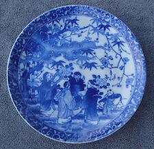 Superbe assiette en porcelaine IMARI N°8 bis décor aux Chinois