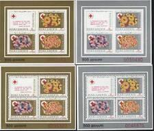 Macedonia MNH Sc RA27a Mini-Sheets (4) Red Cross
