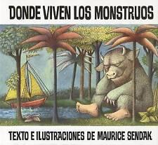 Donde Viven Los Monstruos by Maurice Sendak (Paperback, 1996)