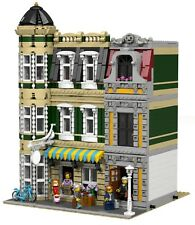 LEGO Modular Tearoom MOC instructions 10182 10190 10185 10197 10211 10218 10224