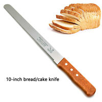10 Inch Stainless Steel Cake Layered Cutter Bread Knife Kitchen Pastry T Pz