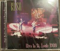 "RUSH ""Live In St. Louis 1980"" (SOUNDBOARD) (RARE CD)"