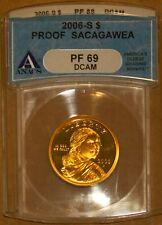 2005-S $1 Sacagawea Dollar PF69DCAM ANACS # 1504985 + Bonus