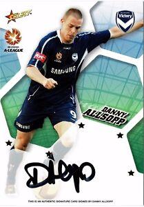 2007/08 A-League Signatures A3: Danny Allsopp #372/600