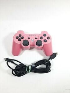 OEM Sony PlayStation 3 PS3 Sixaxis DualShock 3 Controller CECHZC2U Pink w charge