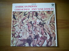 AMERICAN INDIAN CEREMONIAL AND WAR DANCES US LP EVEREST 1971