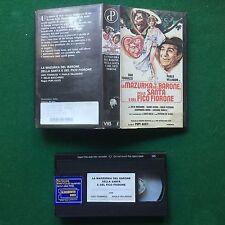 VHS Film LA MAZURKA DEL BARONE SANTA E FICO FIORONE Tognazzi Lucio Dalla (1990)