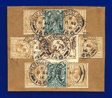 More details for 1915 sg408 2s6d sepia (seal-brown) de la rue n64(13) army post office gu dhdk