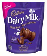 3x CADBURY DAIRY MILK Minis Chocolate Bars ORIGINAL 152g Each -Canada FRESH