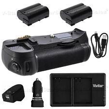 Battery Grip for Nikon D7000 + 2x EN-EL15 Battery + AC/DC Dual Charger Kit