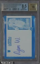 2019 Contenders #51 Zion Williamson RC Rookie Printing Plate 1/1 BGS 8.5 AUTO 10