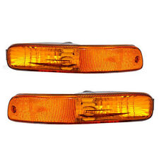 2002 2003 2004 JEEP LIBERTY FRONT BUMPER SIGNAL LAMP LIGHT RIGHT & LEFT SET