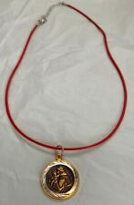"""ST. ANTHONY NECKLACE...ADJUSTABLE 18"""" NECKLACE..VERY NICE CONDITION"""
