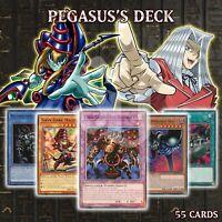 PEGASUS'S DECK 55 Thousand-Eyes Toon Dark Magician World Summoned Skull YuGiOh