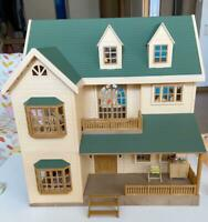 Sylvanian Families GREEN HILL HOUSE Epoch HA-35 Calico Critters JAPAN