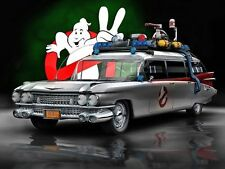 GHOSTBUSTERS CAR GLOSSY REFRIGERATOR SCHOOL LOCKER TOOL BOX MAGNET CHRISTMAS