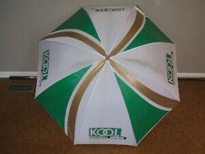 Team Kool Green Indy Indianapolis 500 Large Umbrella, Track Used