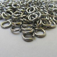 Jump Rings 7mm - 50/100/200 Stainless Steel 16 Gauge Open Jump Rings F8879