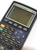 Texas Instruments TI-83 Plus Graphic Scientific Calculator With Cover Black