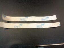 "BAYLINER DECAL PAIR ( 2 ) WHITE 26 3/4"" X 2"" MARINE BOAT"