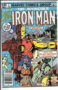 The Invincible Iron Man Annual #5 Killmonger Black Panther Newsstand Edition