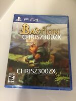Limited Run Bastion PS4 Sony Playstation 4 Physical Standard USA Region Free