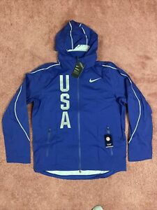 Men's Nike Hypershield Olympic Team USA Jacket 806908 455 Size Large
