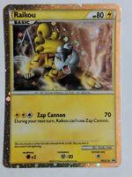 Raikou Holo Rare Promo HGSS19 - Exc- Pokemon (ID#918)