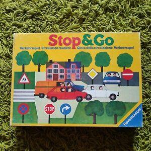 Ravensburger Verkehrsspiel Lernspiel Stop & Go  1983