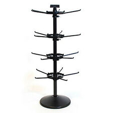 Counter Rack Spinner 4 Tier in Black 28.5 H X 9.5 D Inches